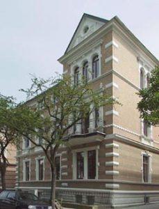 Ansicht Bismarckstraße nach Fassadensanierung